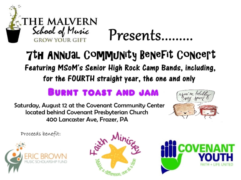MSoM Presents: 7th Annual Community Benefit Concert