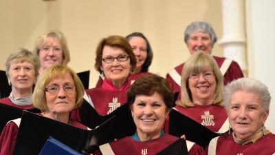 Come Make A Joyful Noise with the Choir!