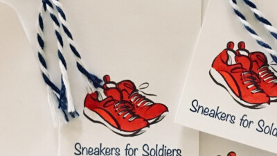 Sneakers for Soldiers